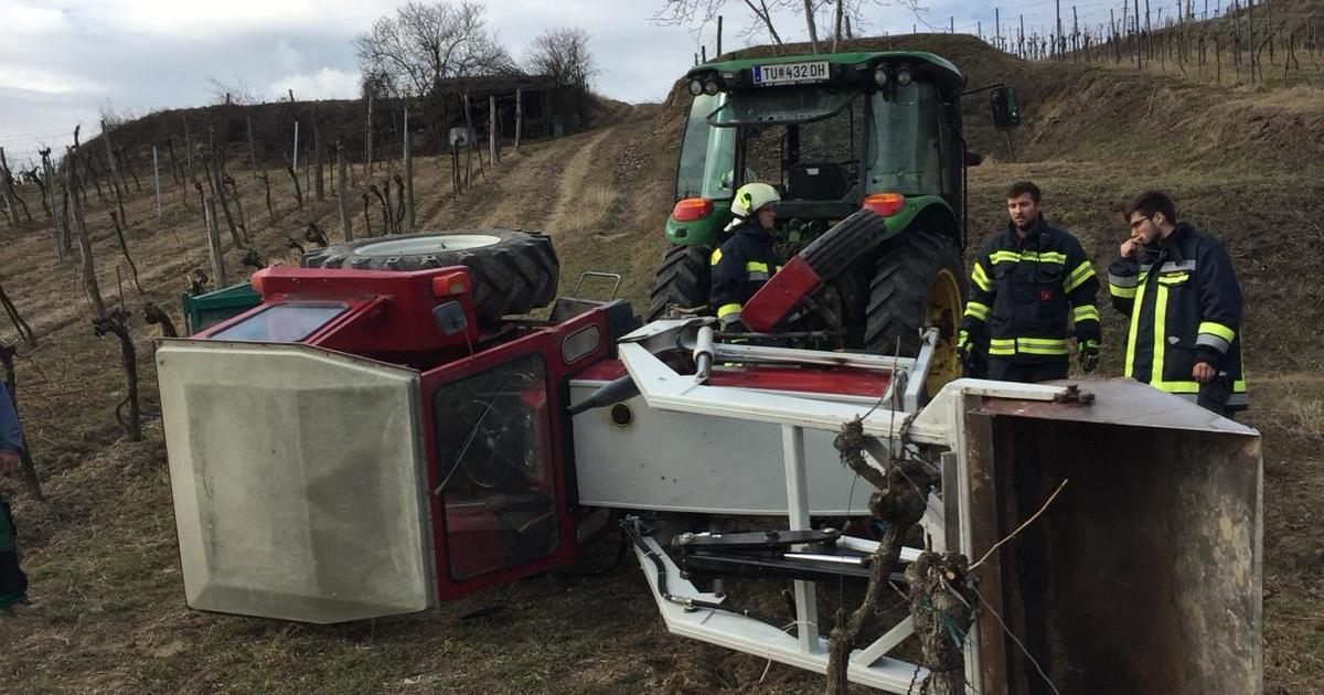 Traktorbergung Riede Thal