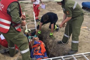 Tiefenrettung mit dem Roten Kreuz