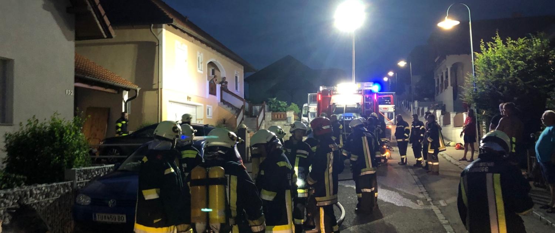 B2 Garagenbrand in Ottenthal