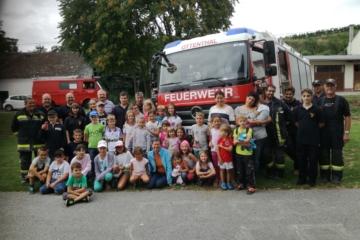 Kindersommer 2019 bei den Feuerwehren des UA5