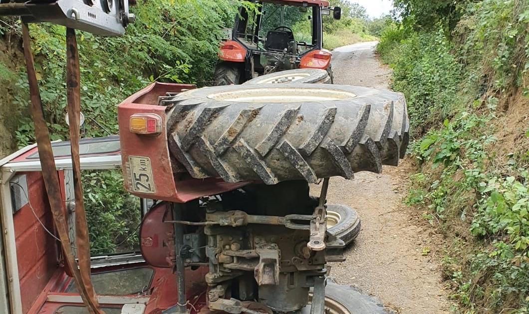 T1 Traktorbergung Halterberg